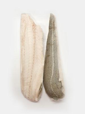 Atlanto menkės filė su oda dydis 400-800g/filė