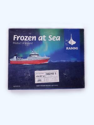 10 kg Dėžė ledjūrio menkės-Saidos filė be odos, filė dydis 400-800 g/file
