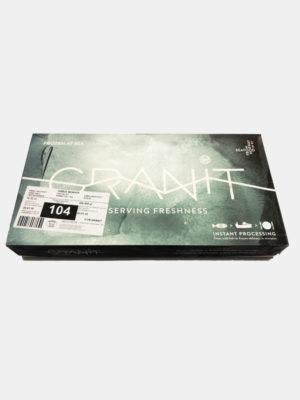 Dėžė Atlanto menkės filė su oda, filė dydis 400-800 g/file