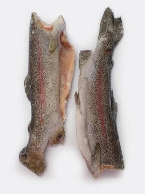 Vaivorikštinis upėtakis skrostas, su oda ir kaulu dydis ~0,7-1kg+/vnt. Kaina 8,50 €/kg