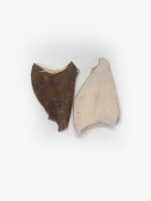 Jūrinė plekšnė (pleuronectes platessa) dydis ~200g/vnt. Kaina 9,00 €/kg